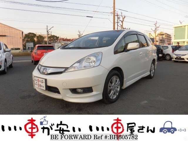 Used 2012 HONDA FIT SHUTTLE HYBRID BH605782 for Sale