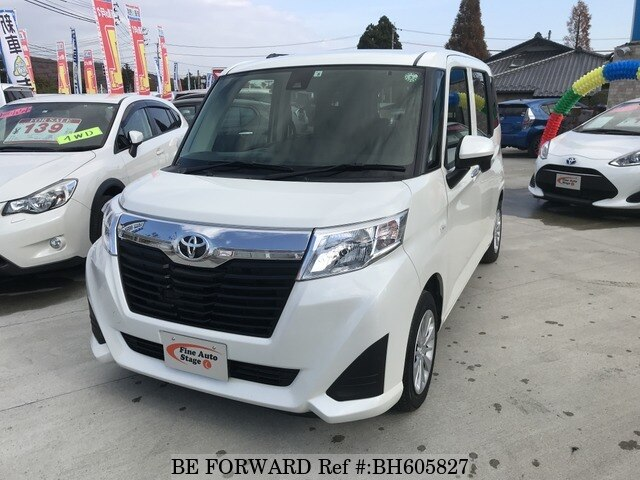 Used 2017 TOYOTA ROOMY BH605827 for Sale