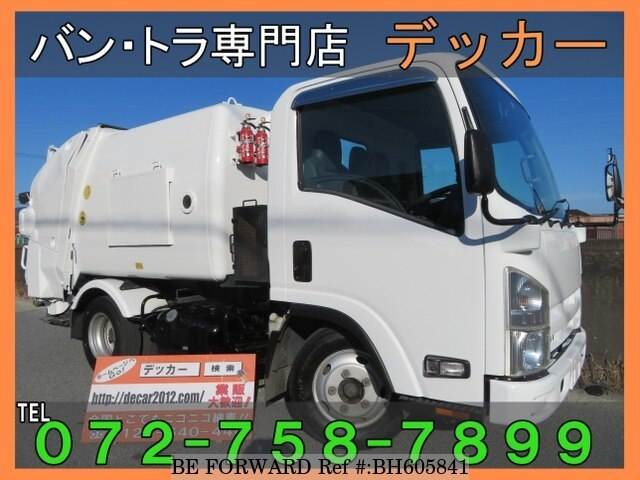 Used 2010 ISUZU ELF TRUCK BH605841 for Sale