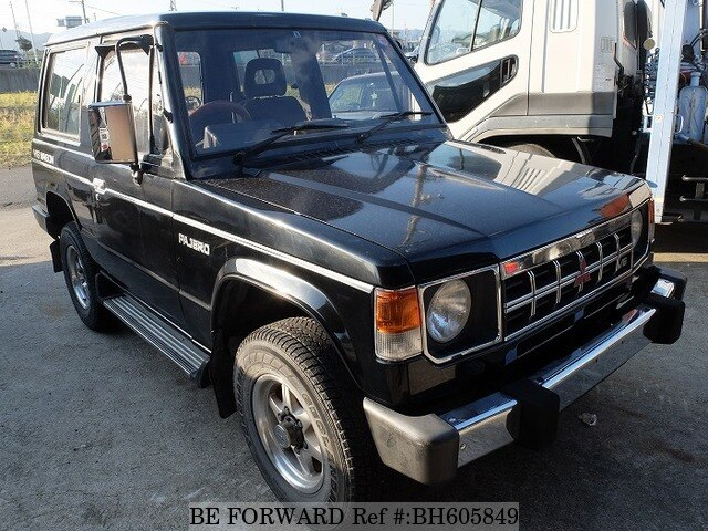 Used 1989 MITSUBISHI PAJERO BH605849 for Sale