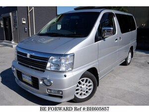 Used 2001 NISSAN ELGRAND BH605857 for Sale