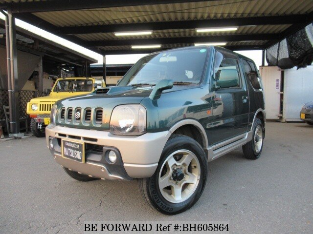 Used 2001 SUZUKI JIMNY BH605864 for Sale