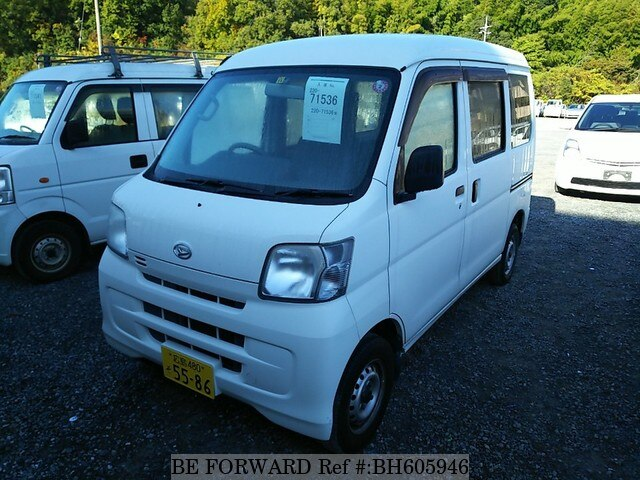 Used 2015 DAIHATSU HIJET CARGO BH605946 for Sale