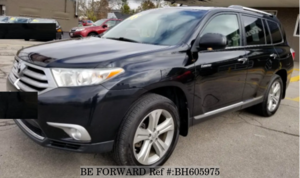 Used 2013 TOYOTA HIGHLANDER BH605975 for Sale