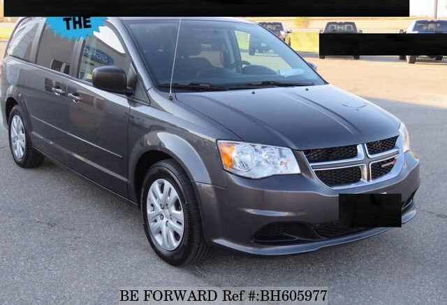 Used 2015 DODGE GRAND CARAVAN BH605977 for Sale
