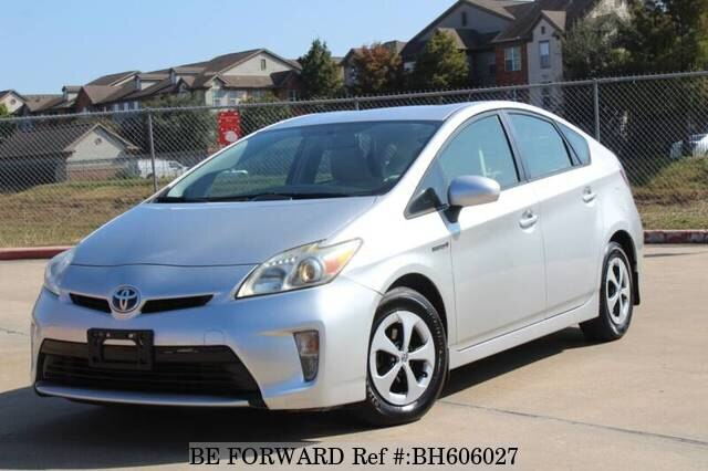 Used 2012 TOYOTA PRIUS BH606027 for Sale