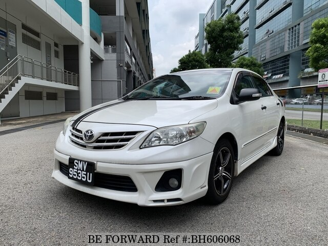 Used 2012 TOYOTA COROLLA ALTIS BH606068 for Sale