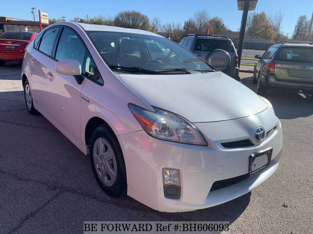Used 2011 TOYOTA PRIUS BH606093 for Sale