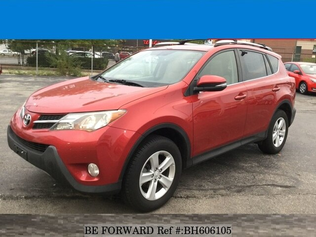 Used 2013 TOYOTA RAV4 BH606105 for Sale