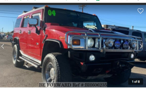 Used 2004 HUMMER H2 BH606235 for Sale