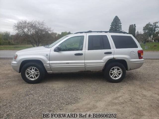Used 2004 JEEP GRAND CHEROKEE BH606252 for Sale