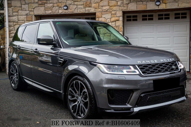 Used 2018 LAND ROVER RANGE ROVER SPORT BH606409 for Sale