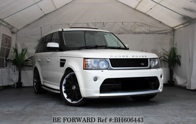 Used 2009 LAND ROVER RANGE ROVER SPORT BH606443 for Sale