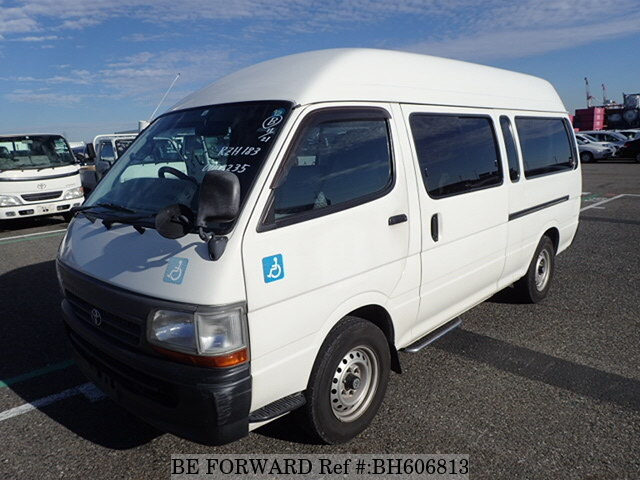Used 2003 TOYOTA HIACE VAN BH606813 for Sale