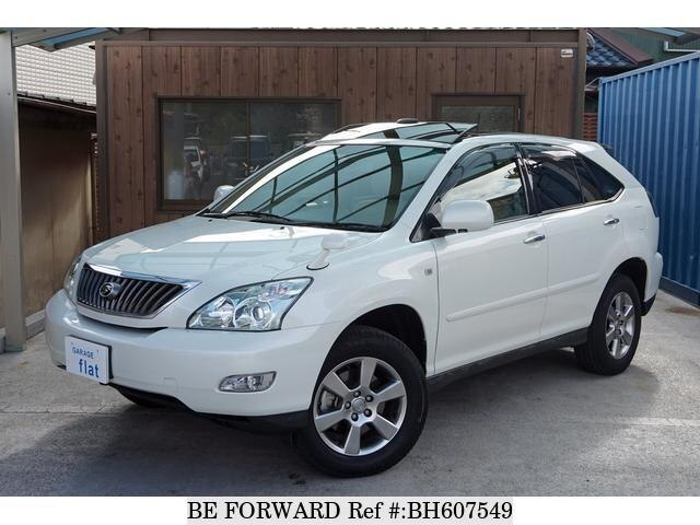 Used 2010 TOYOTA HARRIER BH607549 for Sale