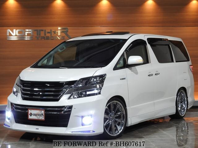 Used 2013 TOYOTA VELLFIRE HYBRID BH607617 for Sale