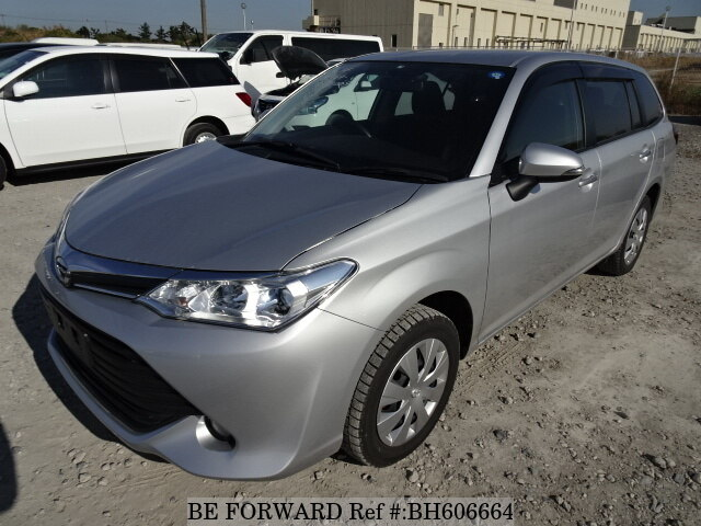 Used 2015 TOYOTA COROLLA FIELDER BH606664 for Sale