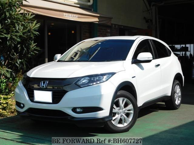 Used 2017 HONDA VEZEL BH607727 for Sale