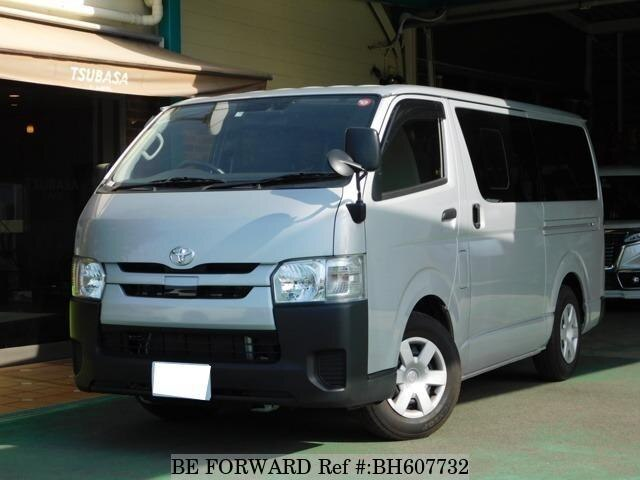 Used 2018 TOYOTA HIACE VAN BH607732 for Sale