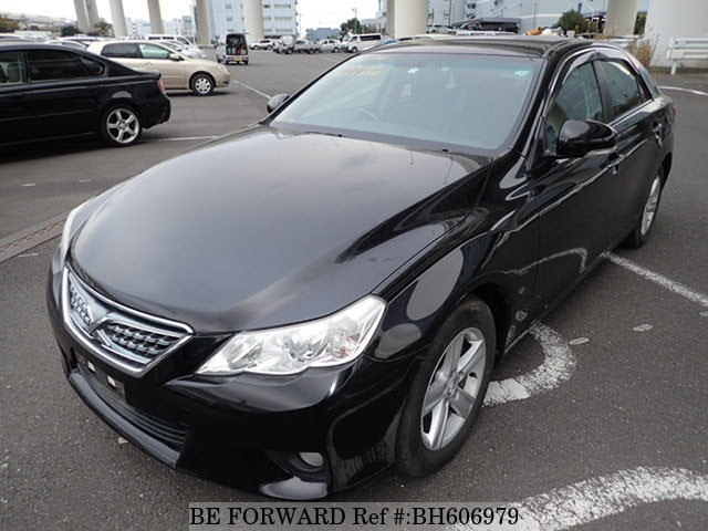 Used 2012 TOYOTA MARK X BH606979 for Sale