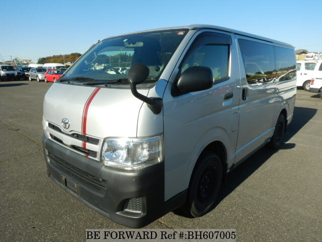 Used 2010 TOYOTA HIACE VAN BH607005 for Sale