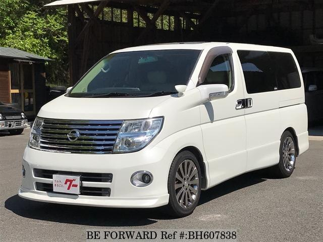 Used 2005 NISSAN ELGRAND BH607838 for Sale