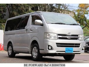 Used 2012 TOYOTA HIACE VAN BH607936 for Sale