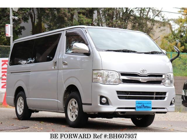 Used 2010 TOYOTA HIACE VAN BH607937 for Sale