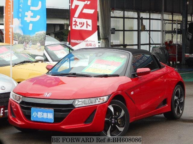 Used 2015 HONDA S660 BH608086 for Sale