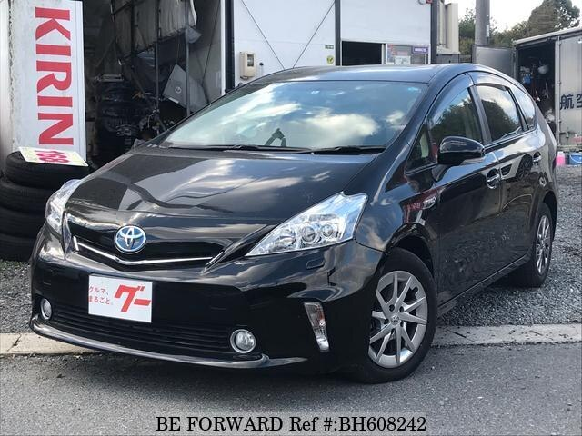 Used 2014 TOYOTA PRIUS ALPHA BH608242 for Sale