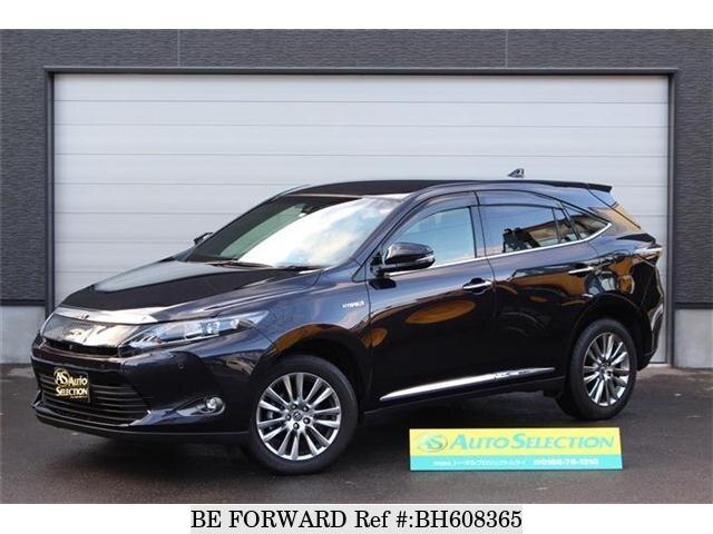 Used 2016 TOYOTA HARRIER BH608365 for Sale
