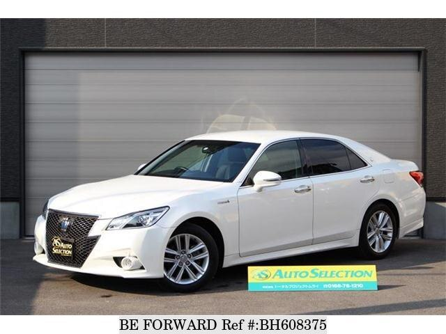 Used 2014 TOYOTA CROWN HYBRID BH608375 for Sale