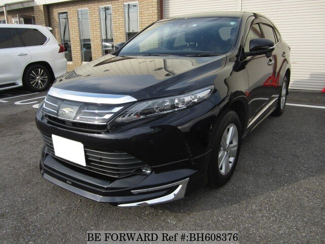 Used 2017 TOYOTA HARRIER BH608376 for Sale
