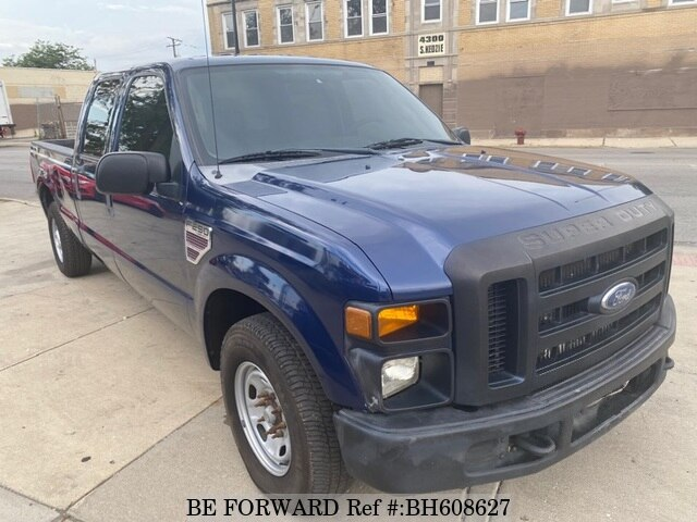 Used 2008 FORD F250 BH608627 for Sale