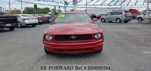 Used 2009 FORD MUSTANG BH608764 for Sale