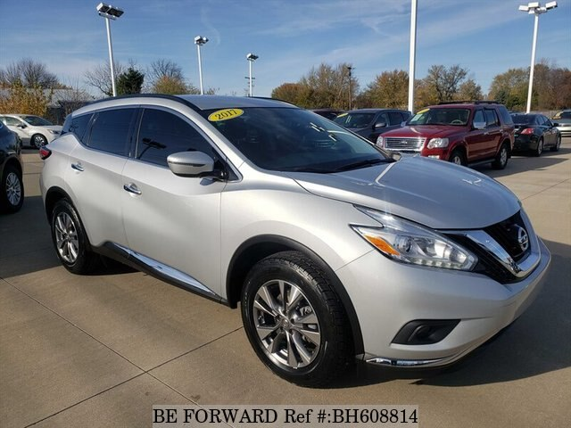 Used 2017 NISSAN MURANO BH608814 for Sale