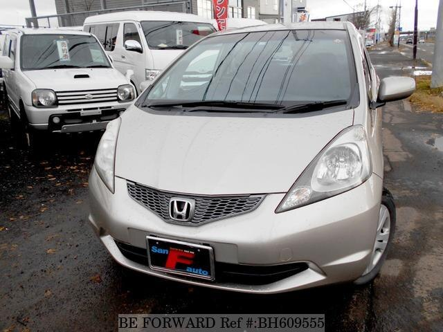 Used 2009 HONDA FIT BH609555 for Sale