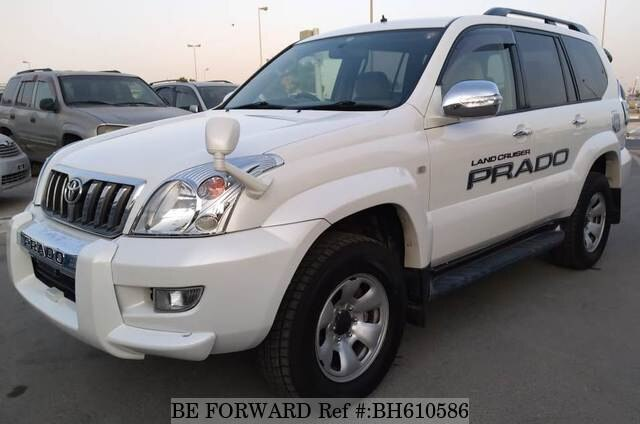 Used 2005 TOYOTA LAND CRUISER PRADO BH610586 for Sale