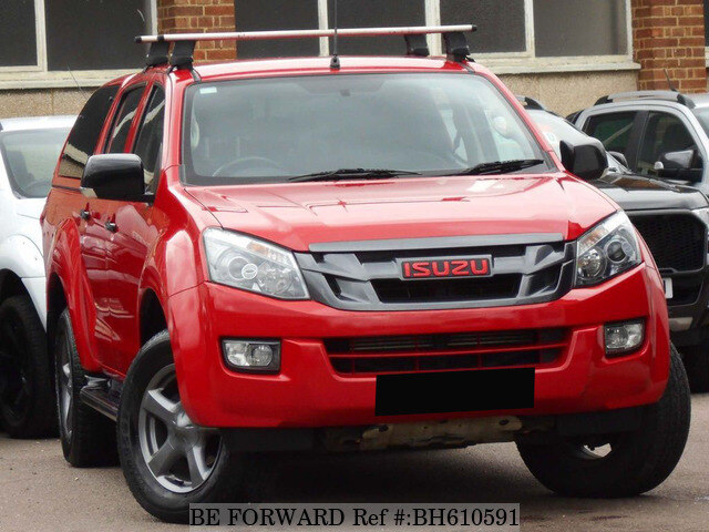 Used 2016 ISUZU D-MAX BH610591 for Sale