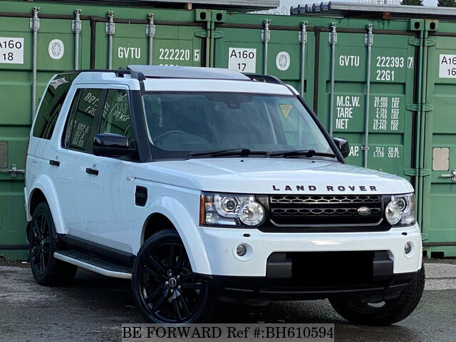Used 2013 LAND ROVER DISCOVERY 4 BH610594 for Sale