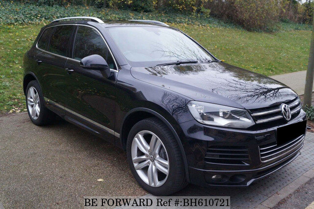 Used 2012 VOLKSWAGEN TOUAREG BH610721 for Sale