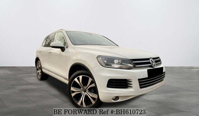 Used 2012 VOLKSWAGEN TOUAREG BH610723 for Sale
