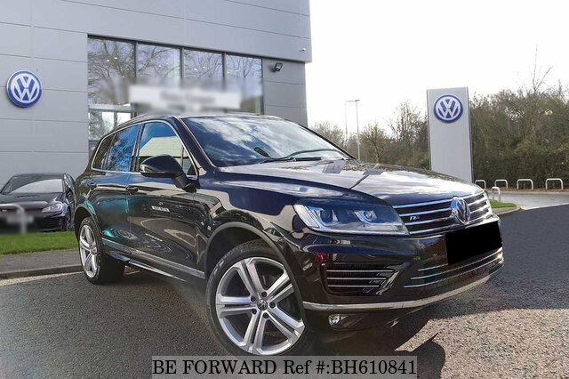 Used 2018 VOLKSWAGEN TOUAREG BH610841 for Sale