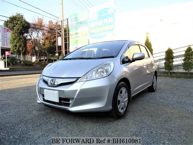 Used 2012 HONDA FIT HYBRID BH610981 for Sale
