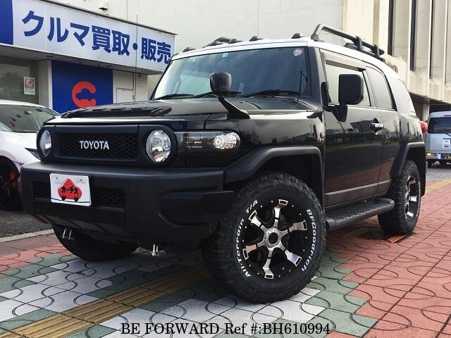 Used 2014 TOYOTA FJ CRUISER BH610994 for Sale