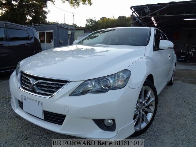 Used 2009 TOYOTA MARK X BH611012 for Sale