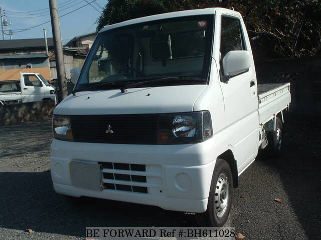 Used 2002 MITSUBISHI MINICAB TRUCK BH611028 for Sale