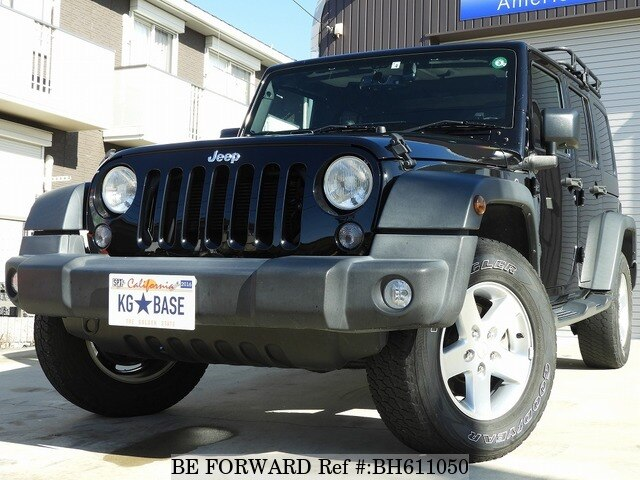 Used 2016 JEEP WRANGLER BH611050 for Sale
