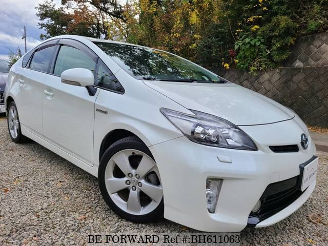 Used 2012 TOYOTA PRIUS BH611063 for Sale