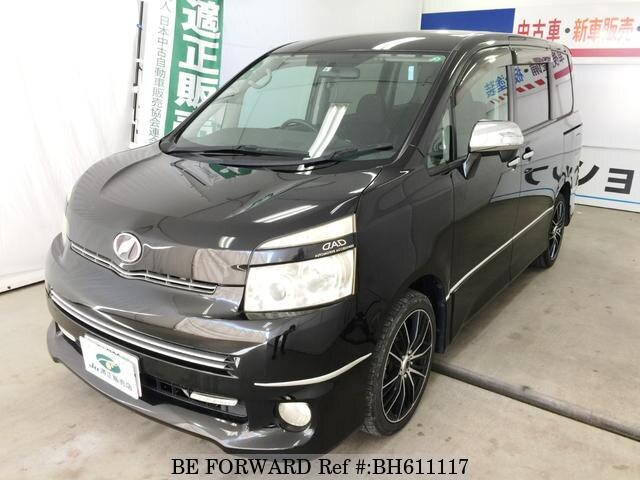 Used 2009 TOYOTA VOXY BH611117 for Sale